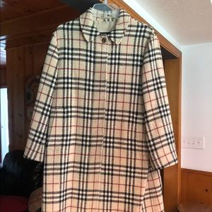 Authentic Burberry winter coat